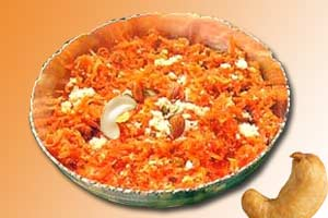 Carrot Halwa - South Indian Recipes