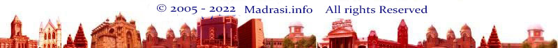 copyright of Madrasi - Chennai City Guide