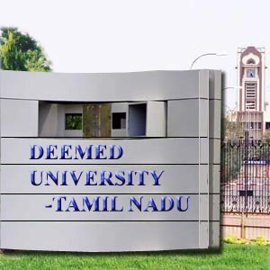 Deemed University in TamilNadu