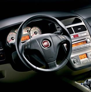 Fiat Linea Interior View
