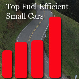 Improve Your Car Mileage - Graph Chart for top 10 cars in small cars category