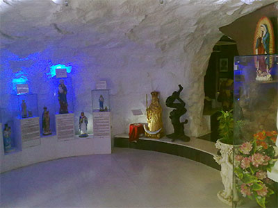 Grotto in Palavakkam Church