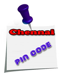 Greater Chennai City Pincodes